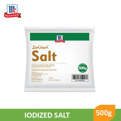 Picture of Mccormick Iodized Salt In Bags 500g - 19315