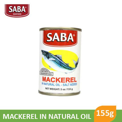 Picture of Saba Mackerel In Natural Oil 425g - 11112