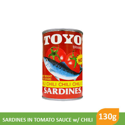 Picture of Toyo Sardines 130g, Red Regular - 15201