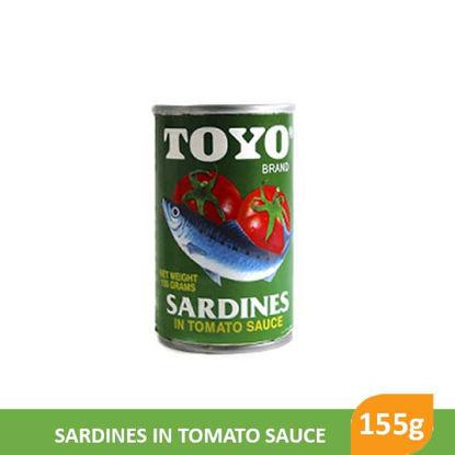 Picture of Toyo Sardines 155g, Green Regular - 15197