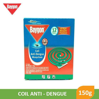 Picture of Baygon Anti Dengue Mosquito Coil 150g - 90444