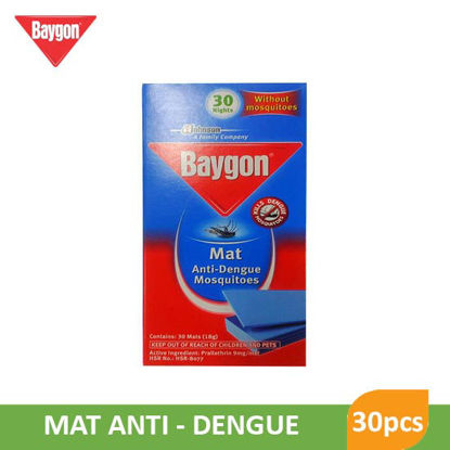Picture of Baygon Mat Antidengue Mosquito Refill 30pcs - 55754