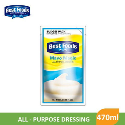 Picture of Bestfoods Regular Mayonaise 470ml - 59358