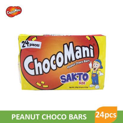 Picture of Choco Mani Sakto Size Peanut Bars 228g 24pcs - 9275