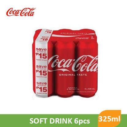 Picture of Coca Cola Original 325ml 6pcs - 96808