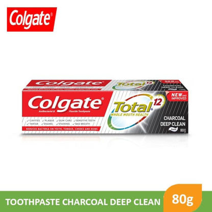 Picture of Colgate Total 12 Charcoal 80g 2pcs - 81012