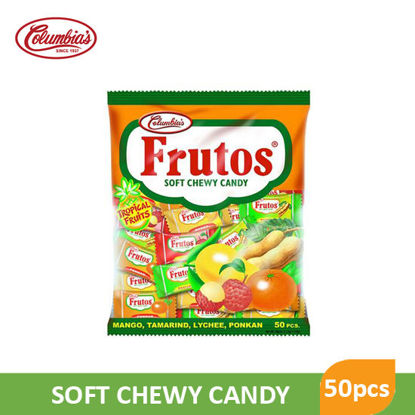 Picture of Columbia Frutos Tropical Chewy 50pcs - 54824