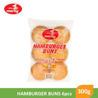 Picture of Marby Hamburger Buns With Sesame Seeds 300g - 12046