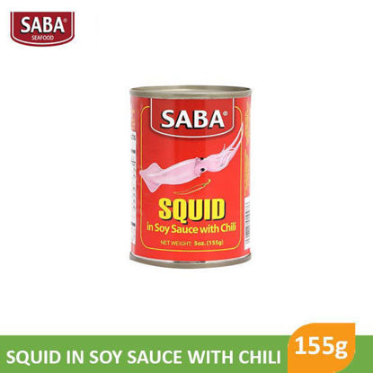 Picture of Saba Squid In Soy Sauce With Chili 155g - 11116