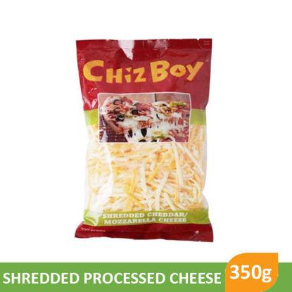Picture of Chiz Boy Shredded Cheddar Mozzarella 350g - 84791