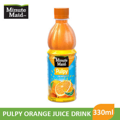Picture of Minute Maid Pulpy Orange 330ml - 048007