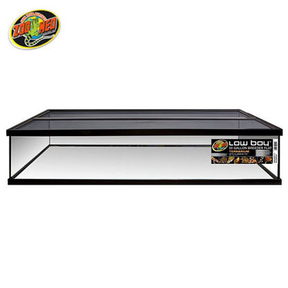 Picture of Zoo med Low Boy Terrarium With Aluminum Top