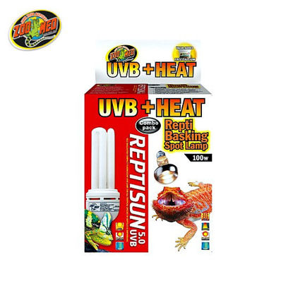Picture of Zoo med Heat/UVB Combo Pack