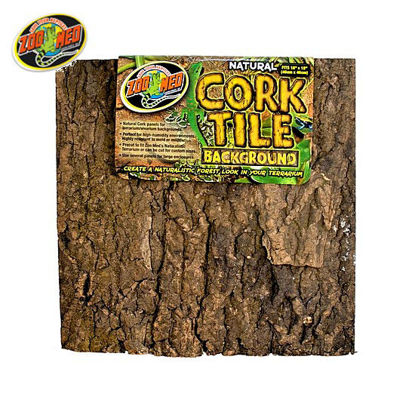Picture of Zoo med Cork Tile Background S