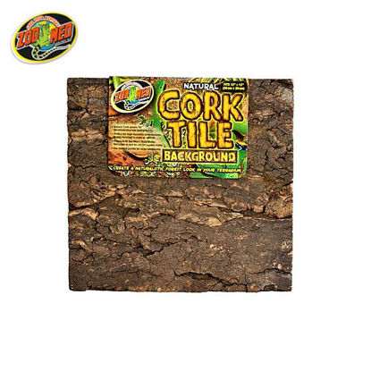 Picture of Zoo med Cork Tile Background M