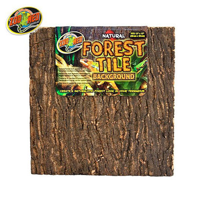 Picture of Zoo med Natural Forest Tile Background 12x18