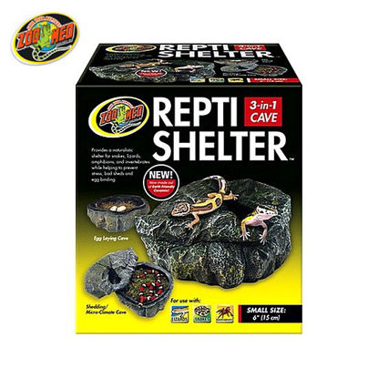 Picture of Zoo med  Reptivite Shelter 3in1 Cave
