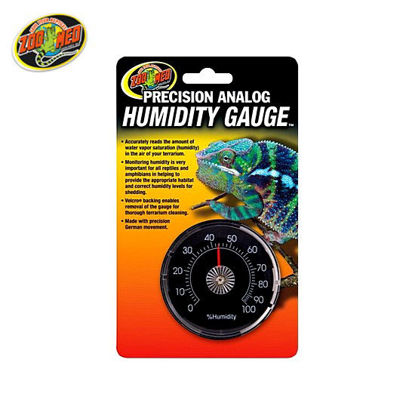 Picture of Zoo med Analog Humidity Gauge