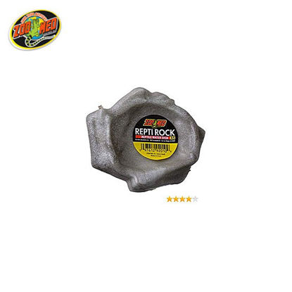 Picture of Zoo med  Reptivite Rock Water Dish 4.5x4x1