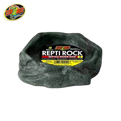 Picture of Zoo med  Reptivite Rock Water Dish 5.5X5X1.25