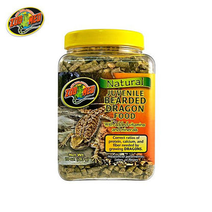 Picture of Zoo med Bearded Dragon Food Juvenile 10oz