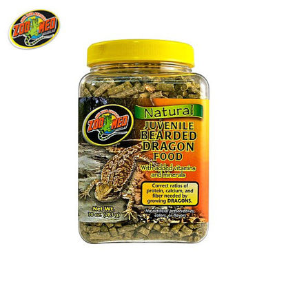 Picture of Zoo med Bearded Dragon Food Juvenile 20oz