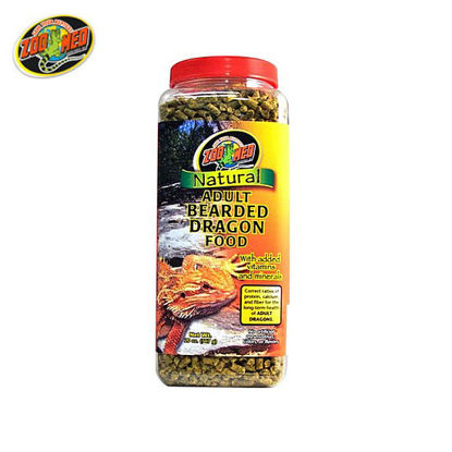 Picture of Zoo med Bearded Dragon Food Adult 20oz