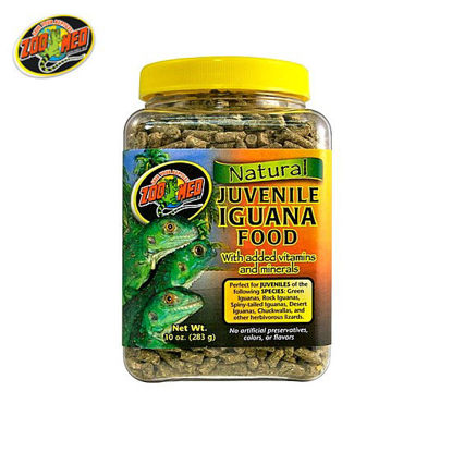 Picture of Zoo med All Natural Juvenile Iguana Food 10oz