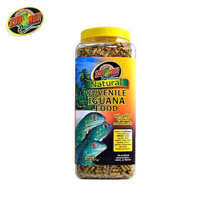 Picture of Zoo med All Natural Juvenile Iguana Food 20oz