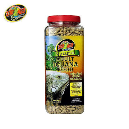 Picture of Zoo med All Natural Adult Iguana Food 20oz