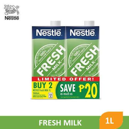 Picture of Nestle Fresh Milk 1L x 2's - 090054