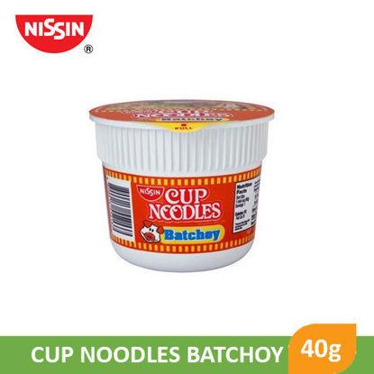 Picture of Nissin Cup Noodles Mini Batchoy 40g -  014020