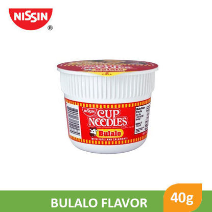 Picture of Nissin Cup Noodles Mini Bulalo 40g -  014022