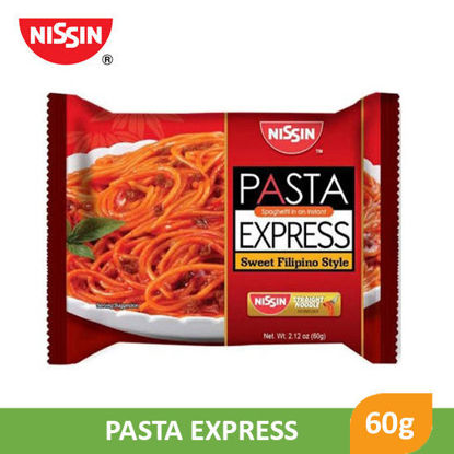 Picture of Nissin Pasta Express Sweet Filipino Style 60g -  070778