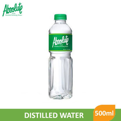 Picture of Absolute Distilled Drinking Water 500ml - 007185