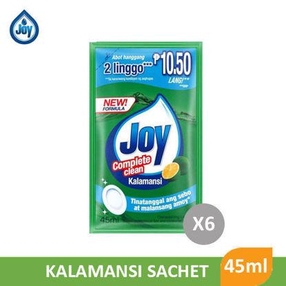 Picture of Joy Diswahing Liquid Kalamansi 45mL 6S - 064679